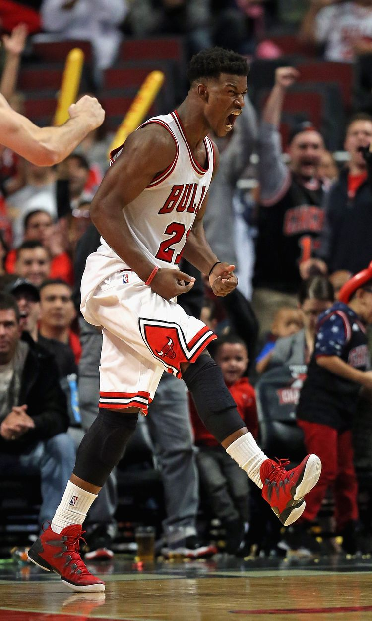 Jimmy Butler has been the Bulls best player while