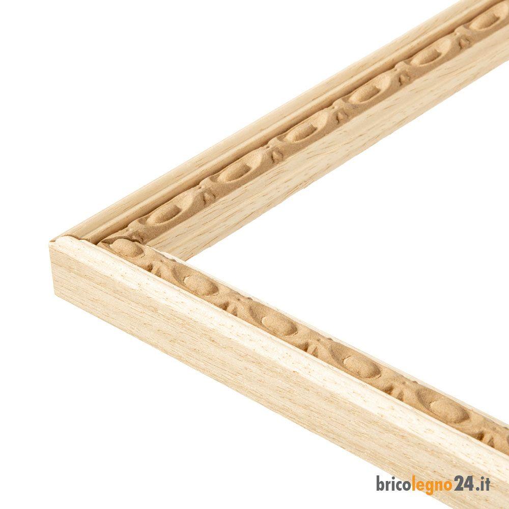 Cornice su misura in pasta di legno intarsio em 2020