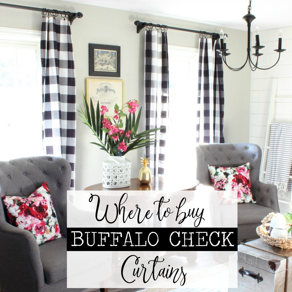10+ Best Red Buffalo Plaid Living Room