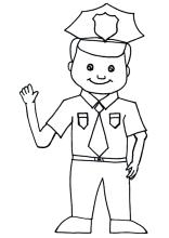 Polizist Ausmalbild Kostenlos 101 Malvorlage Polizei Ausmalbilder