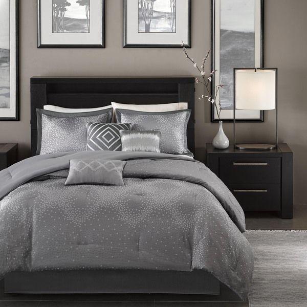 Madison Park Crawford 7 Piece Comforter Set