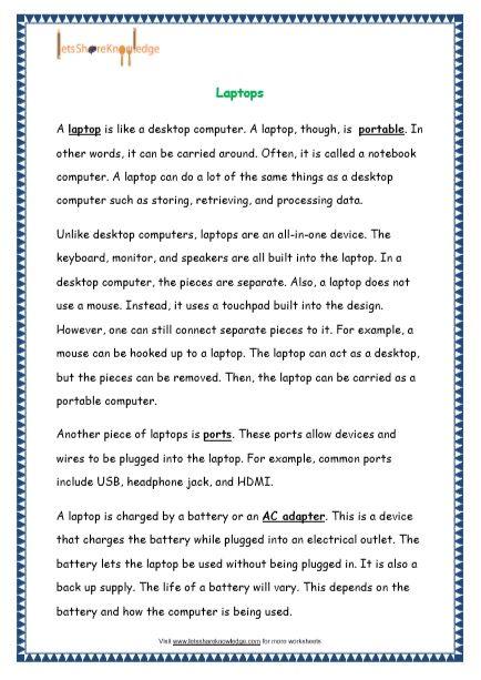 Comprehensions For Grade 4 Ages 8 10 Worksheets Reading Skills Worksheets 2nd Grade Reading Worksheets Reading Comprehension Worksheets 4th grade story sequencing worksheets