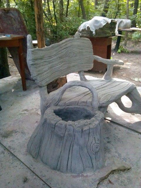 Скамейки бетон добавка пва в цементный раствор что дает