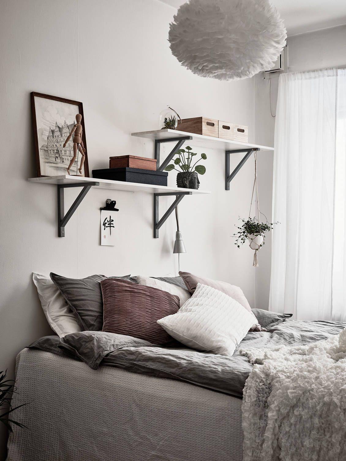 7 Decoratie Ideeen Voor De Ruimte Boven Je Bed Woonmooi Slaapkamerideeen Slaapkamer Interieur Slaapkamer Inrichten