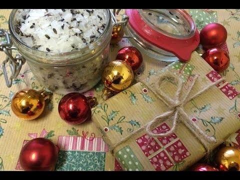 Vianočné DIY - levanduľová soľ do kúpeľa a levanduľový olej :)