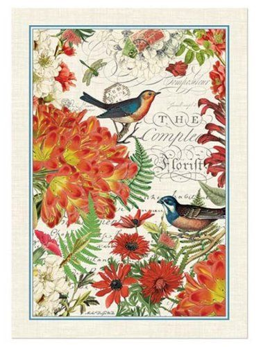 Beau Michel Design Works Kitchen Towel, Wildflower Meadow Michel Design. Ships  From U0026 Sold By