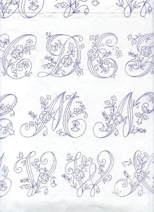 ALFABETO  DIBUJOS  Pinterest  Letras Abecedario y Bordado