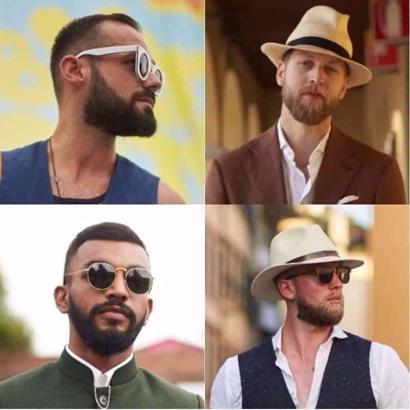 Wedding Beard Styles: Delight Hair And Beard Styles #beardstyles #beardstylemen