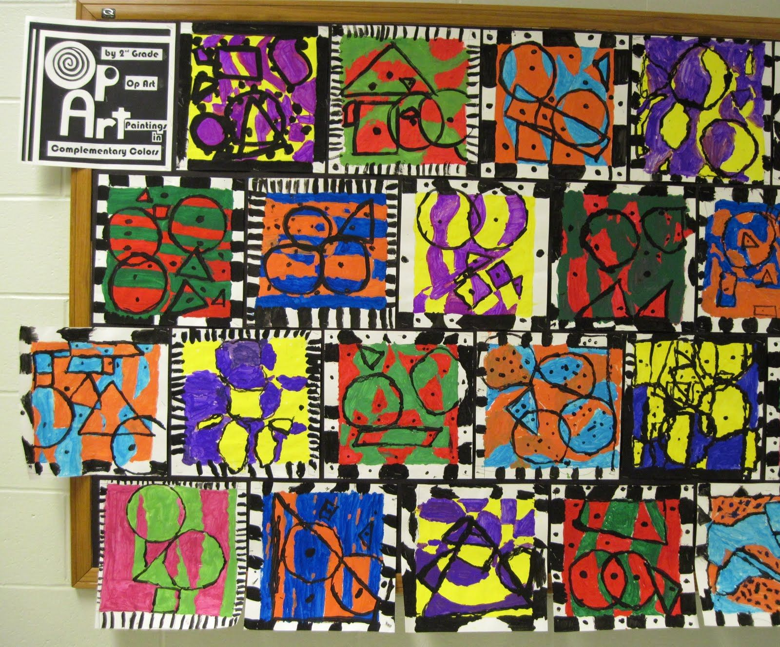 Elementary Art Primary Color Lessons