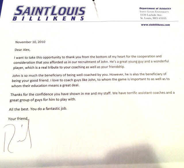Thank You Letter From Lacrosse Coach Parents Just Buse Free Sample