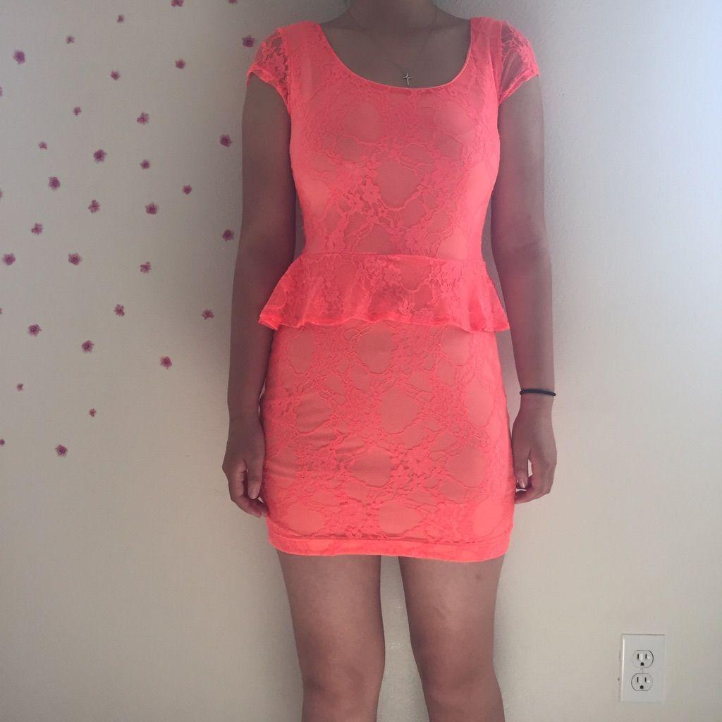 Lacey Peplum Dress