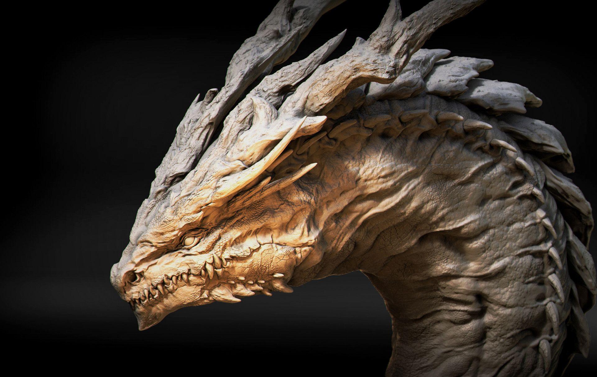 Dragon Head Concept Art