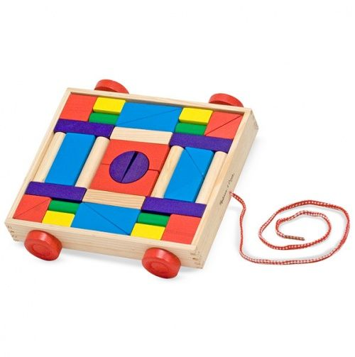 Wooden Blocks Pull Toy
