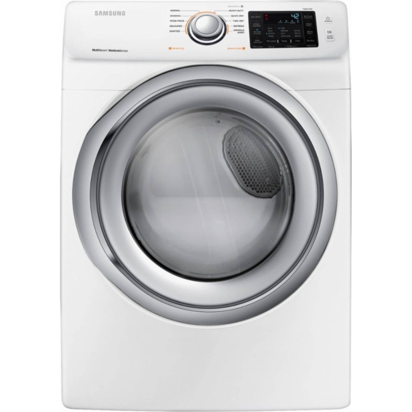 Dve45n5300w By Samsung Electric Dryers Goedekers Com Electric Dryers Samsung Dryer Gas Dryer