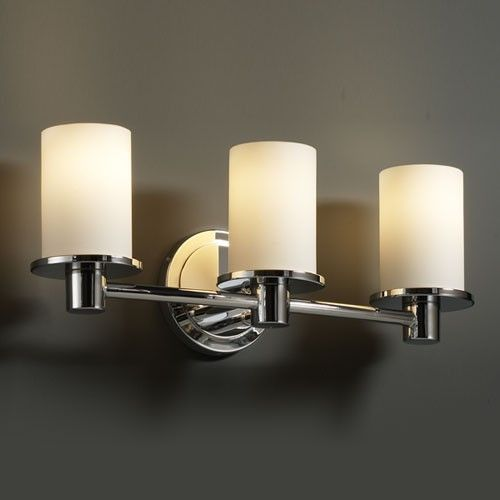Justice Design Bathroom Lighting Louie Lighting  Justice Design Group Fsn8513 Rondo 3Light
