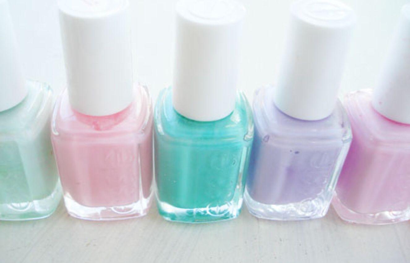 Loverly Pastel ESSIE Nail Polish | Royal closet | Pinterest | Uñas ...