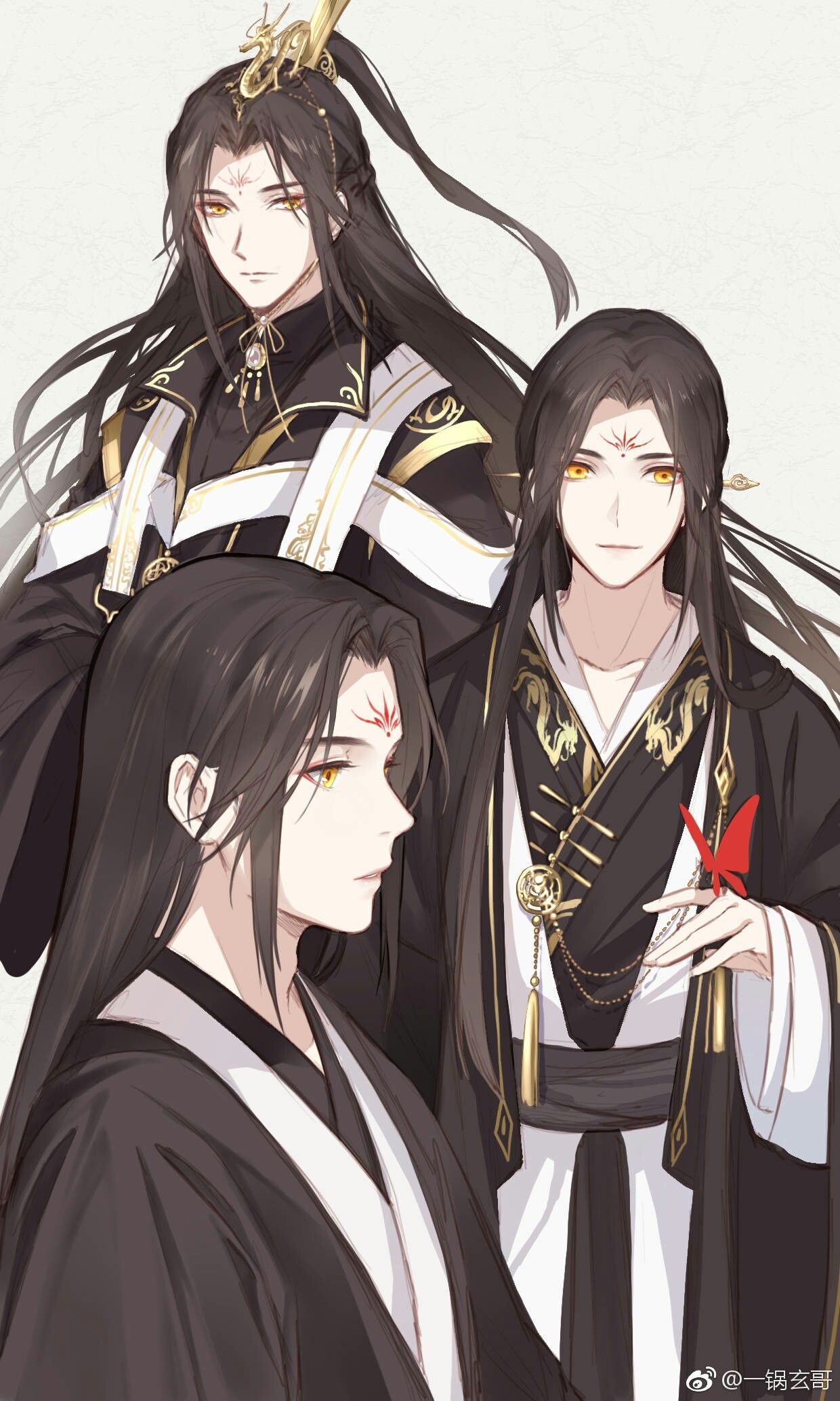 Follow Me Now Tran Jang Anime Guy Long Hair Handsome Anime Guys Anime Boy