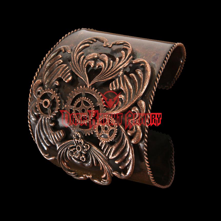 Antique Copper Steampunk Cuff - LU-531330 from Dark Knight Armoury