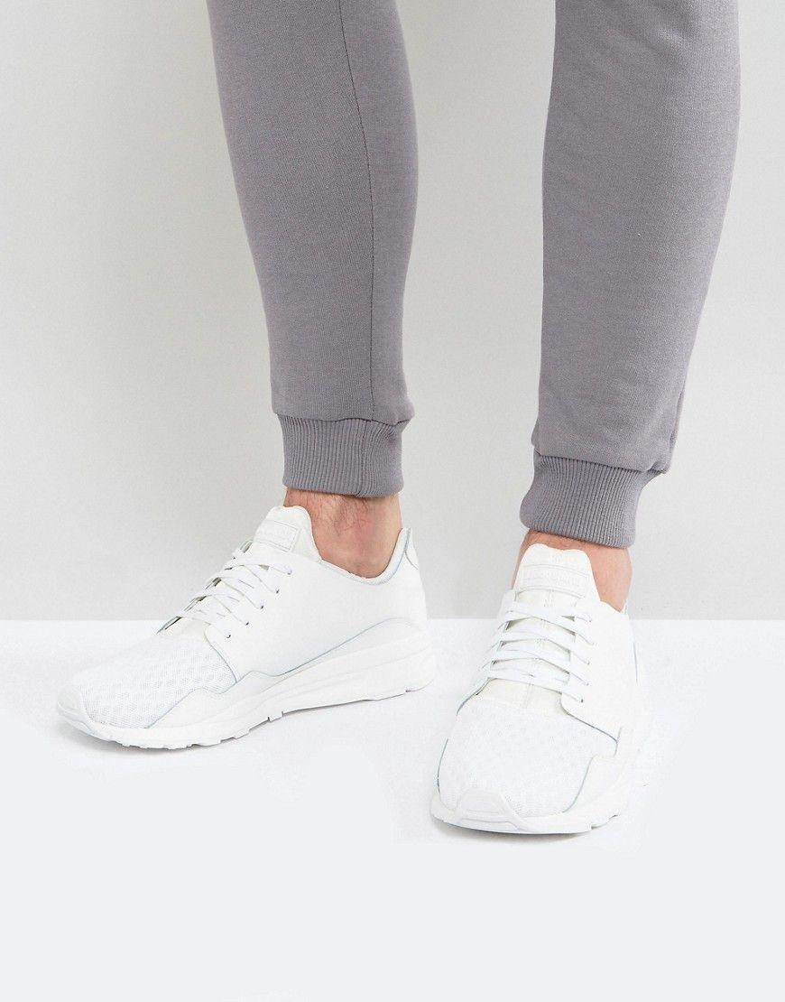 0c138feced5f LE COQ SPORTIF PURE LEA SPORT SNEAKERS IN WHITE 1720550 - WHITE.   lecoqsportif  shoes