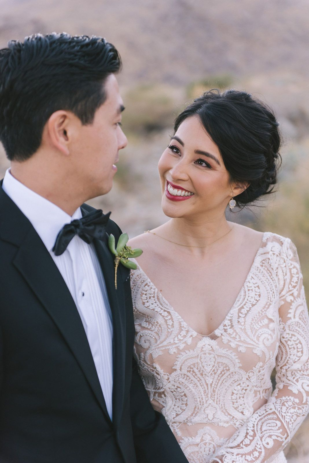 a winter wedding at the ace hotel in palm springs
