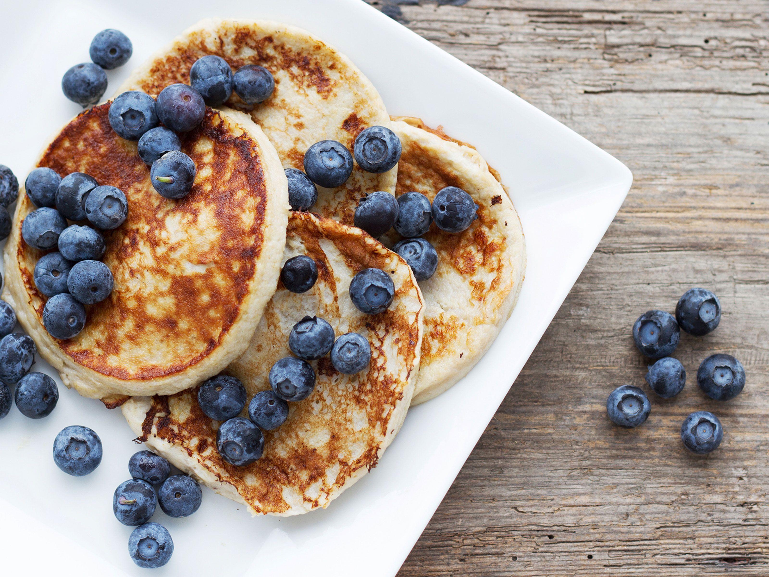 Bananpannkakor Recept Recept Viktminskning Mat Matporr