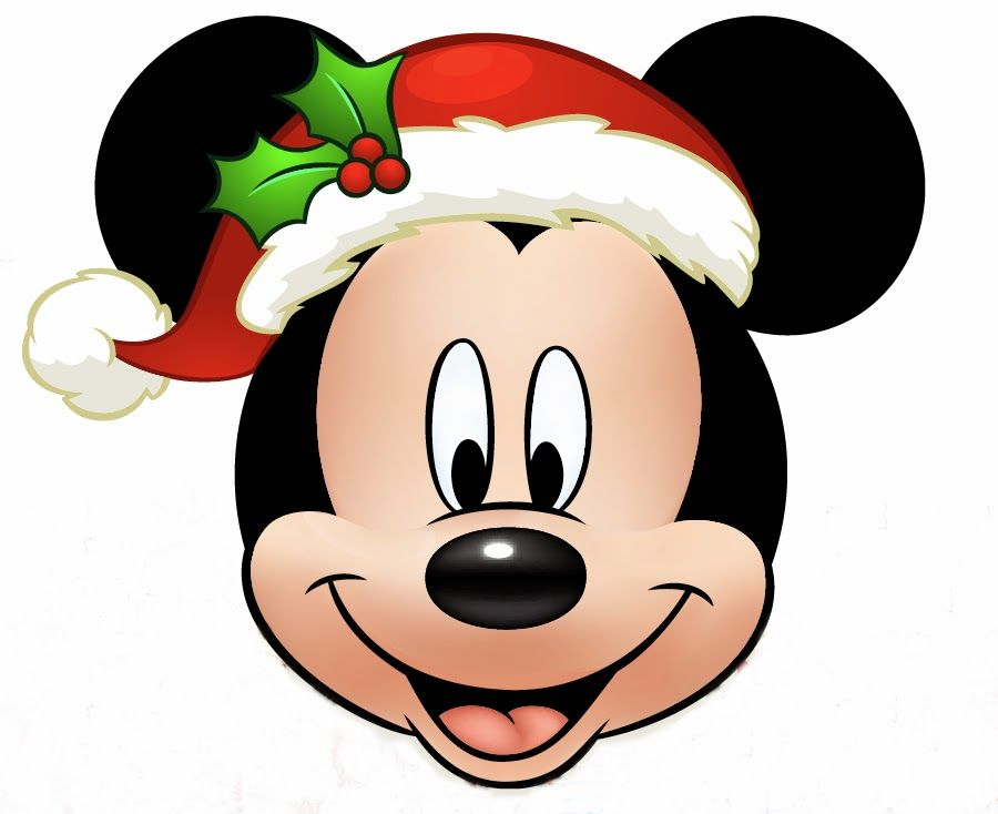My disney life minnie and mickey christmas printables for Decoration noel mickey