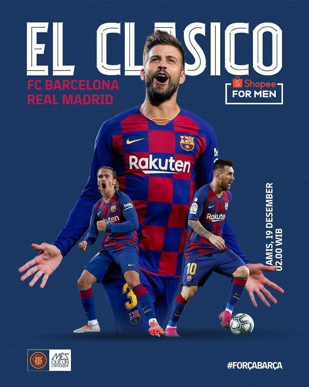Match Day! It's El Clasico Day! 🔥 . 🏆 La Liga Jornada 10