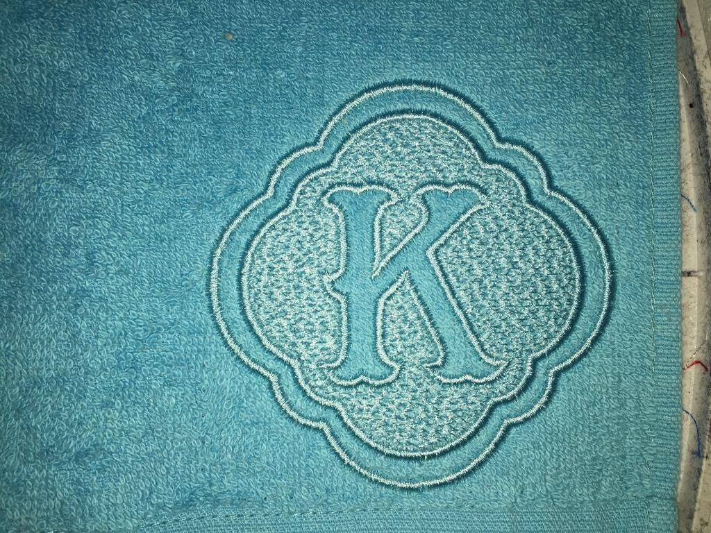 Chic Embossed Monogram Alphabet Designs by JuJu