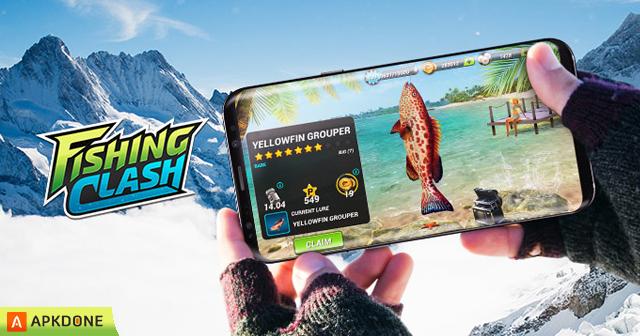 New APK Fishing Clash v1.0.68 (MOD Always combo)Updated