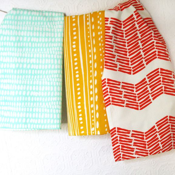 have I already pinned this? I still want these, and they're still sold out -- set of 3 dish cloths // leah duncan