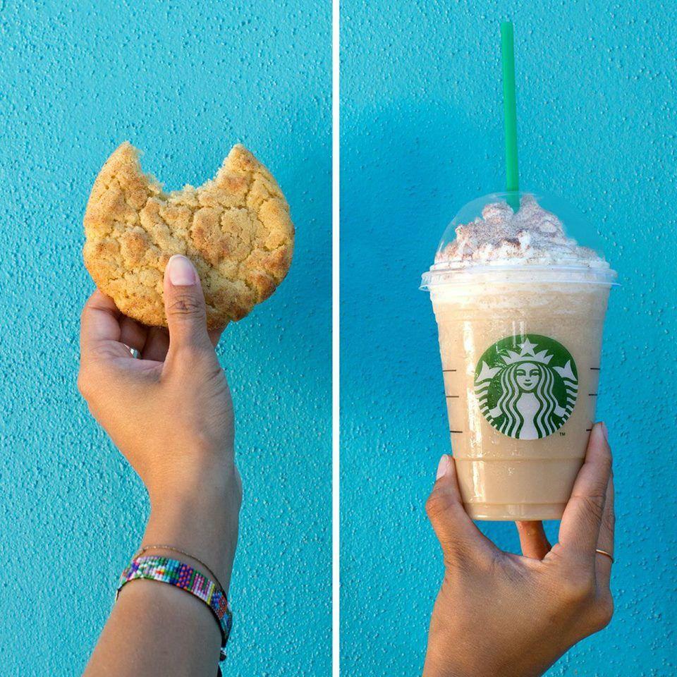 Starbucks Snickerdoodle Frappuccino #StarbucksSecretMenu Recipe here: http://starbuckssecretmenu.net/starbucks-secret-menu-snickerdoodle-frappuccino/