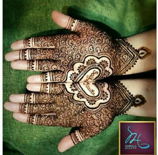 Heart With Name Henna Designs Henna Designs Henna Names