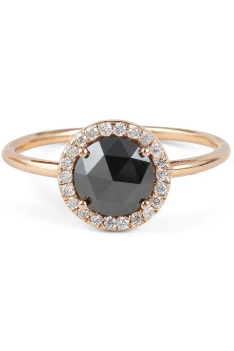 Black Diamond Rings are the Carrie Bradshaw of Engagement Rings ...