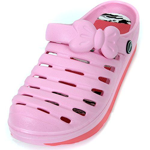 New Womens Light Weight Slide Slip on Comfortable Heel Ribbon Sandal 8 Pink -- Check this awesome product by going to the link at the image.