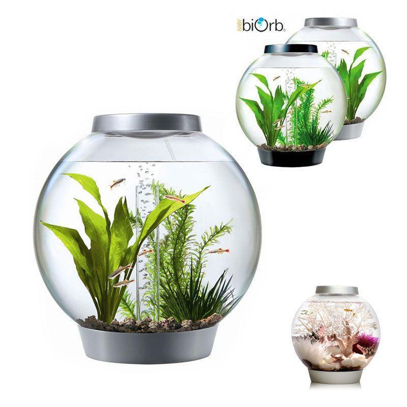 Baby BiOrb Standard Komplett Design Kugelaquarium Set 15l Mit Led Licht In  Haustierbedarf, Fische U0026