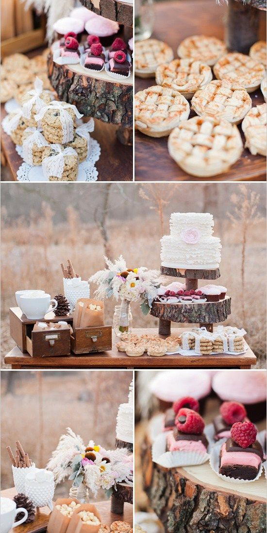 Rustic insp. shoot by Jeff Sampson photo | styled by Valerie Sampson | via The Wedding Chicks