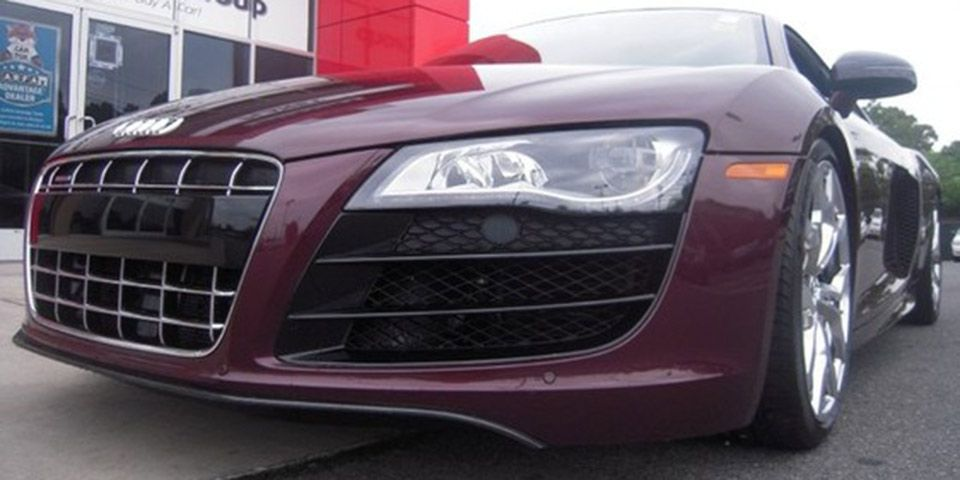 Find Of The Day Audi Exclusive Classic Red R8 V10 Coupe Classic