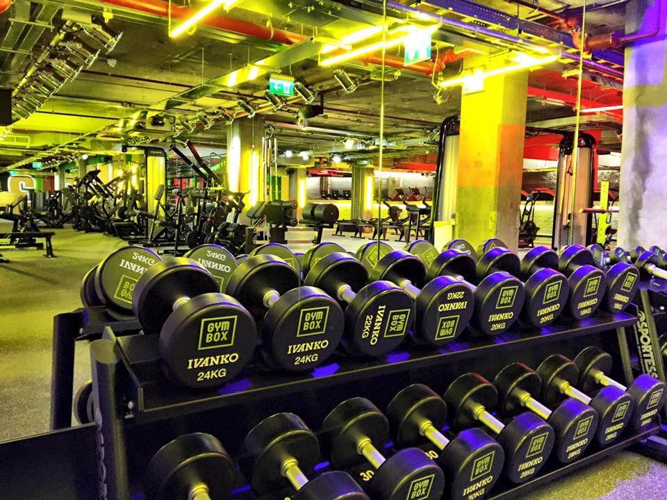 Gymbox Victoria Lightivity Gym Kettlebell Exercise