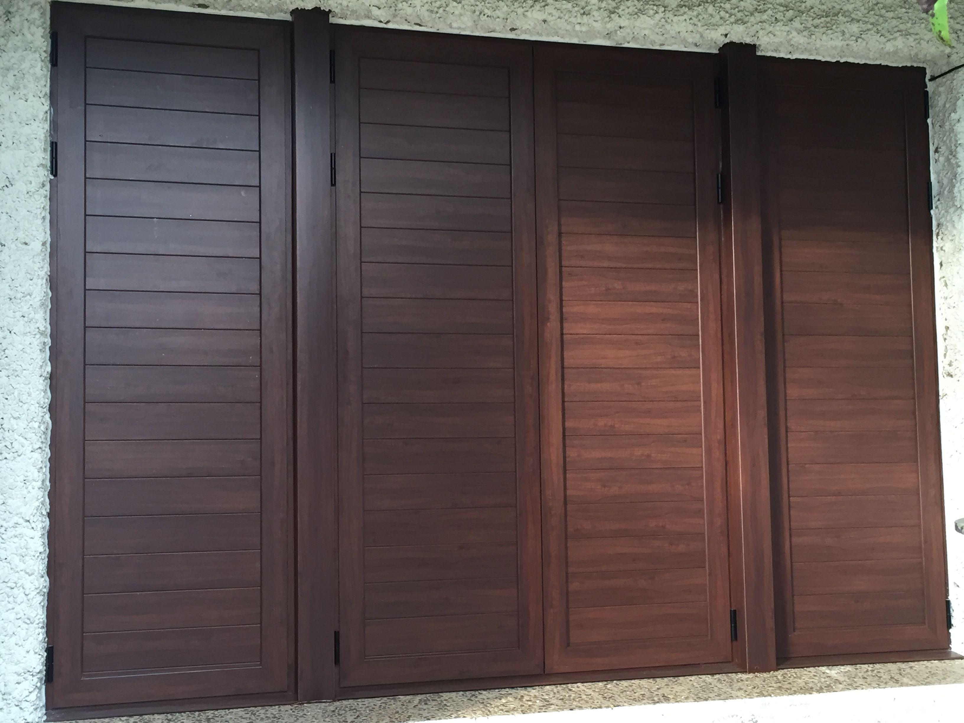 Preciosa mallorquina imitaci n madera fabricada por for Puertas imitacion madera exterior