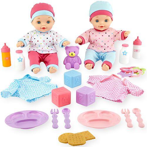 You Me Twin Baby Dolls Deluxe Set Target Baby Dolls Baby Dolls Twin Babies