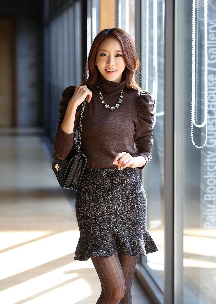 moda coreana 25 modelos de faldas para chicas mundo fama corea
