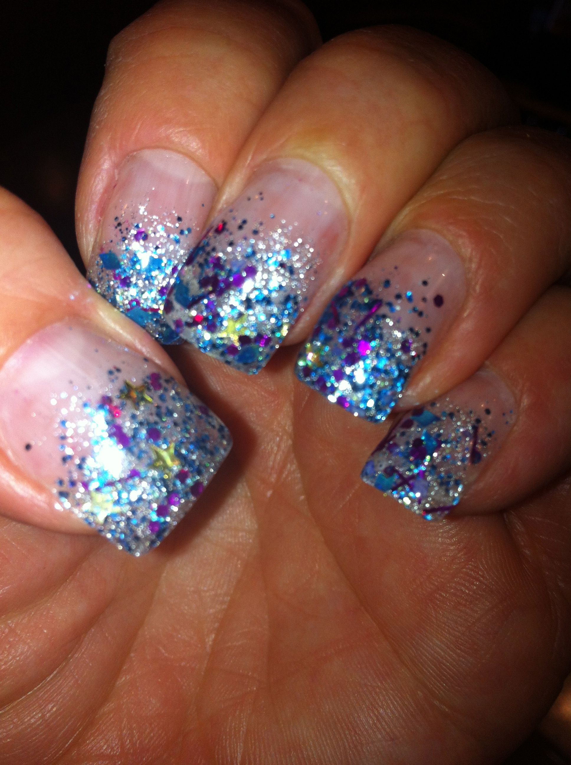 New Years! Gel Nails by Shmoozi Nailz | Nailed it. | Pinterest ...