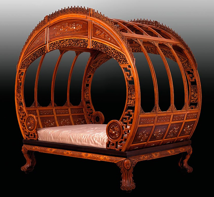 Cool Cheap Couches: Moon Bed Or Chinese Marriage Bed