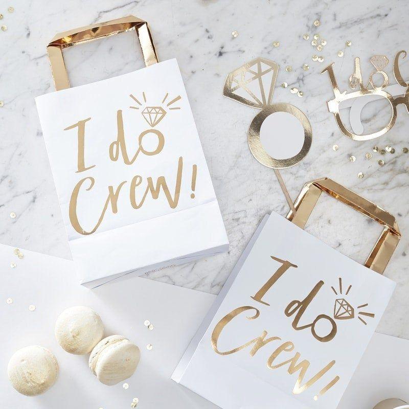 5 FAVOURS! BRIDAL PARTY Bride