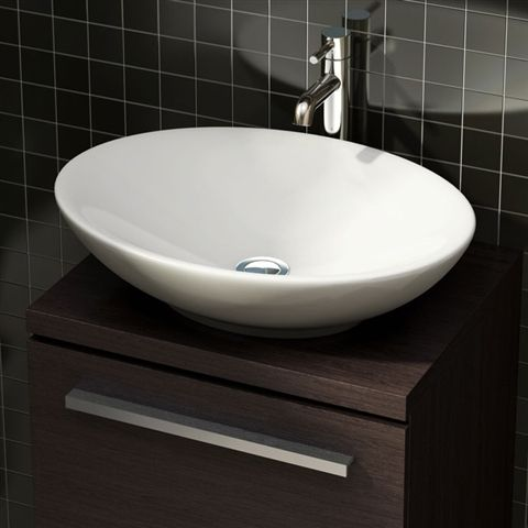 Sinks This Stunning Shallow Sided Oval Bathroom