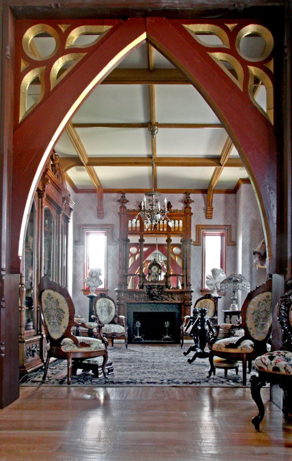 Interior , Gothic Interior Design For Dark But Attractive Home Decor Ideas  : Inspiring Gothic Interior