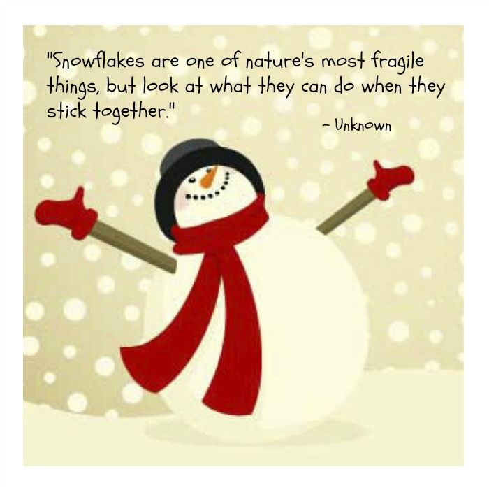 cute snowman quotes