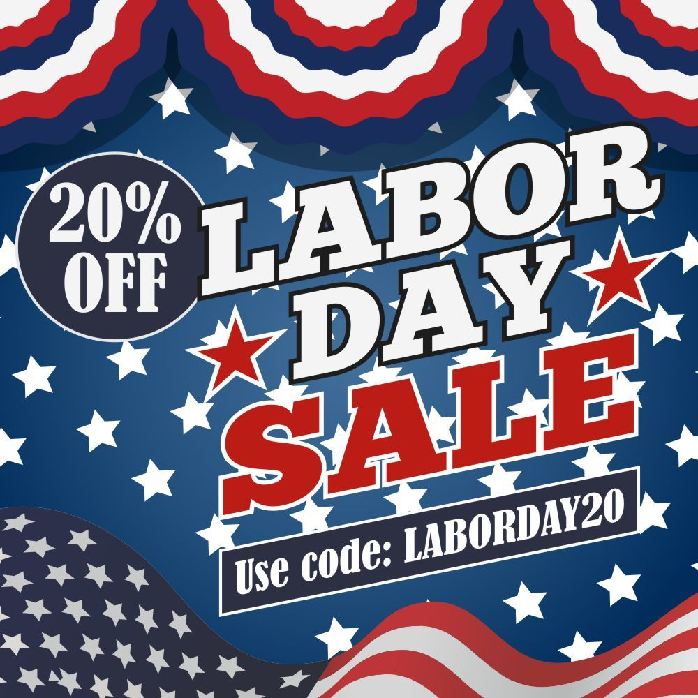 Labor Day Sale at in 2020 Custom