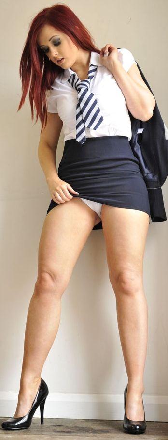Sexy schoolgirl