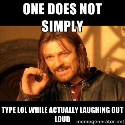 One does not simply - meme via Meme Generator i made this one